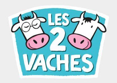 logo les 2 vaches
